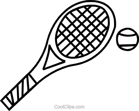 Tennis Racket Drawing At Getdrawings Com Free For Personal Use