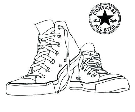 Tennis Shoe Drawing At Getdrawings Com Free For Personal