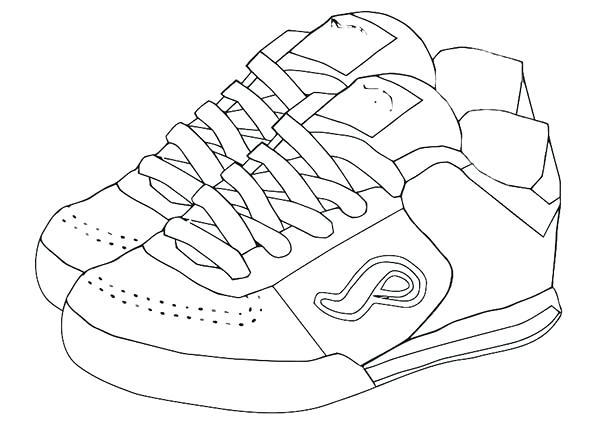 600x425 shoes pictures to color shoe color page shoe coloring pages