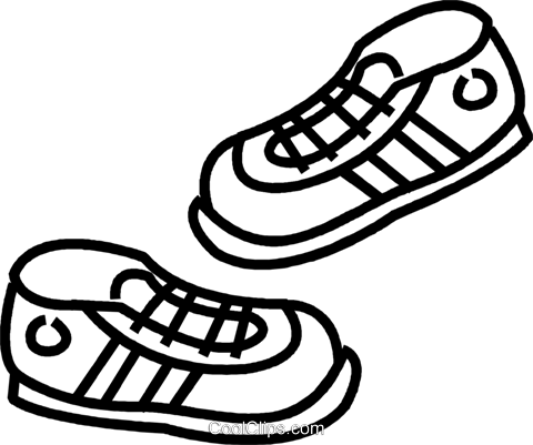 tennis shoes drawing at getdrawings com free for personal use rh getdrawings com tennis shoe clip art black and white tennis shoes clipart black and white
