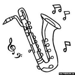 250x250 Tenor Coloring Pages
