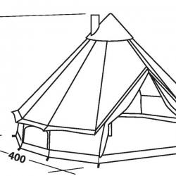 250x250 Robens Klondike Tipi 6 Man Tent 2018 Planet Camping