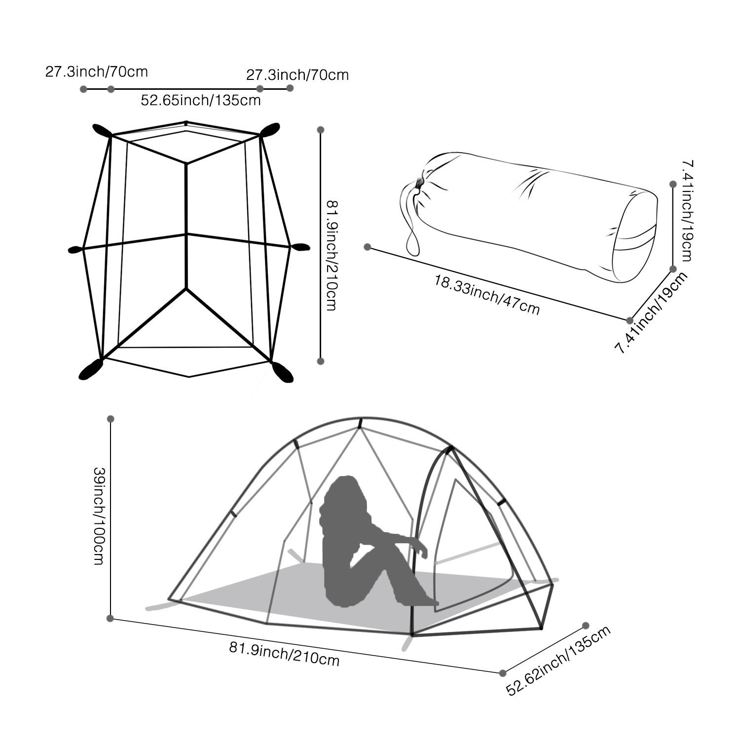 1500x1500 Wolfwise 2 Person Backpacking Tent