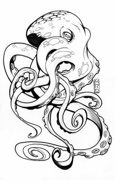 236x371 Octopus Upcoming Tattoos Side Tattoos, Tattoo