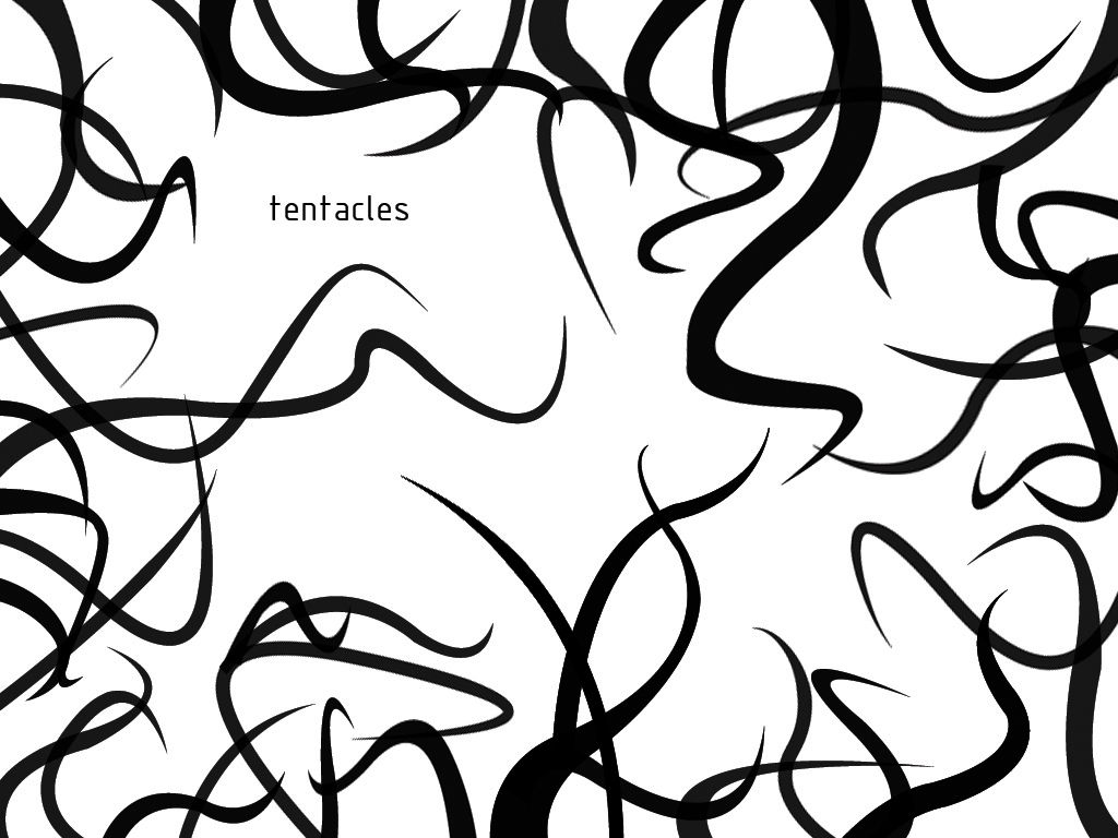 1024x768 Tentacles Brushes By Brownus