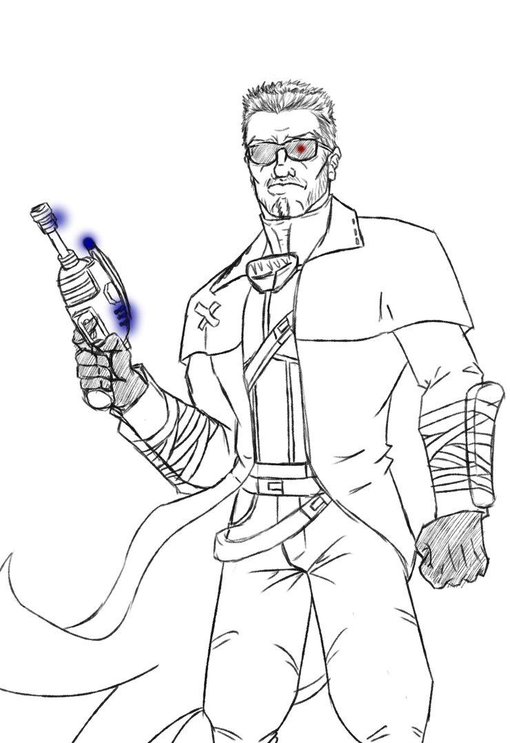 Terminator Drawing