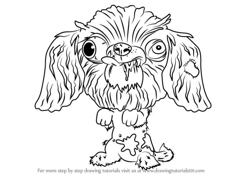 800x567 Learn How To Draw Dork Shire Terrier From The Ugglys Pet Shop (The