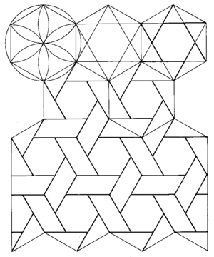300x360 Islamic Patterns Exploration