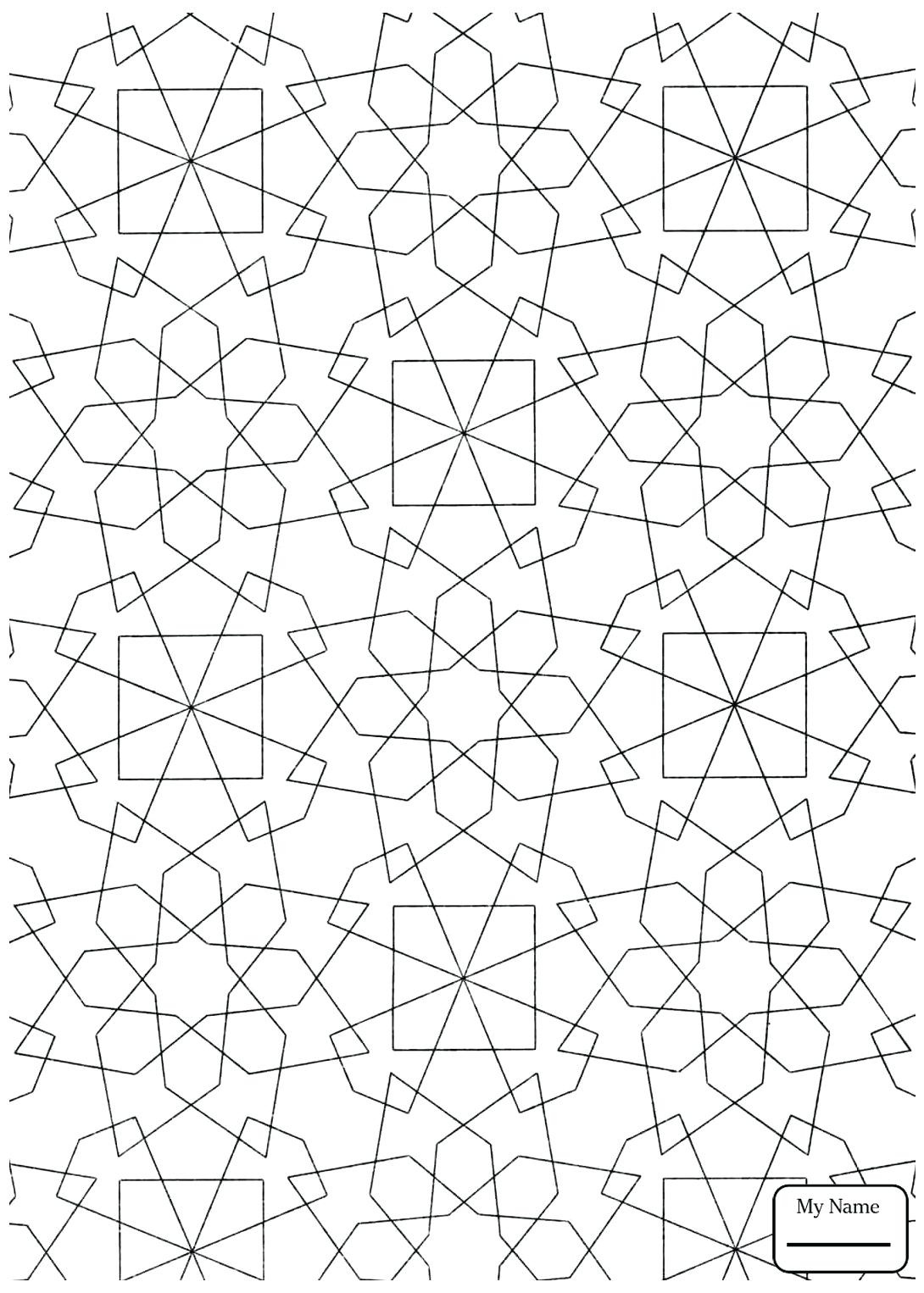 Tessellation drawing at free for for Mc escher tessellations coloring pages