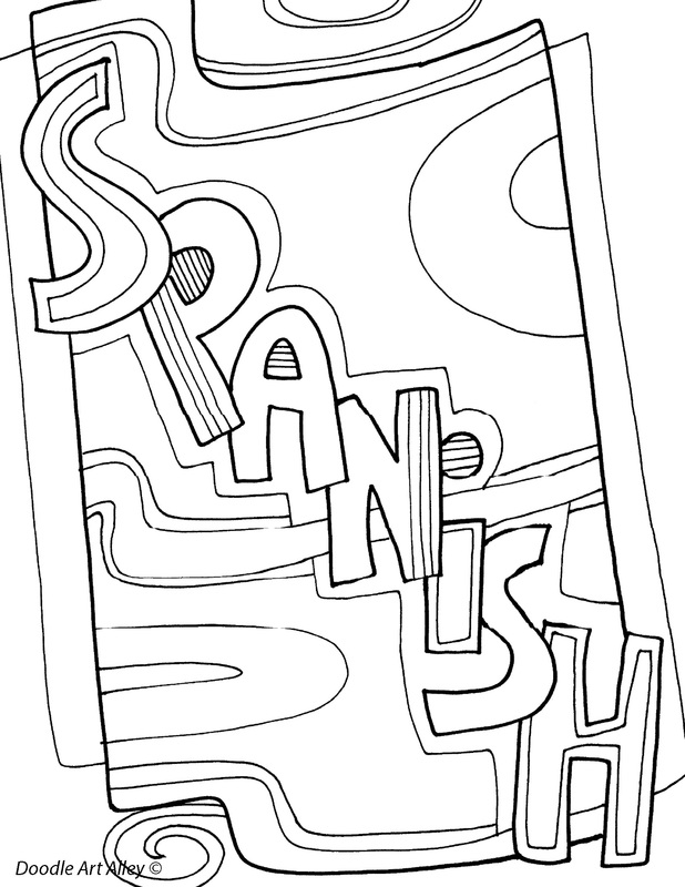 618x800 Subject Coloring Pages
