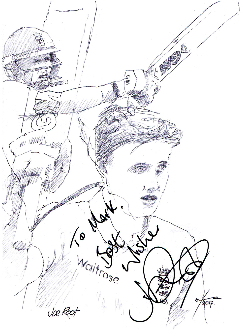 1000x1353 Drawing Joe Root Chicanepictures