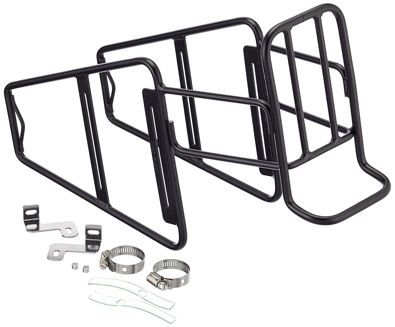 1500x1242 Point 05033800 Front Bicycle Pannier Lowrider Aluminium, Black
