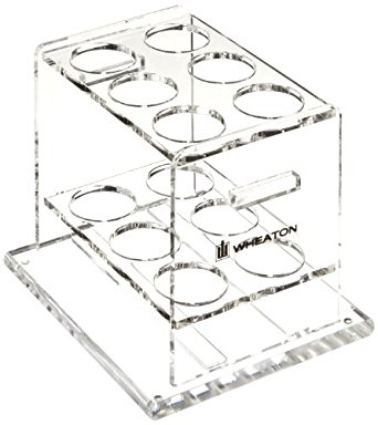 342x384 Wheaton 805015 Acrylic Storage Rack For Use With Wheaton