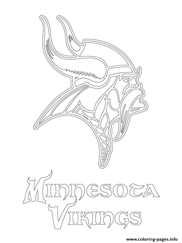 640x853 Minnesota Vikings Logo Football Sport Coloring Pages Printable