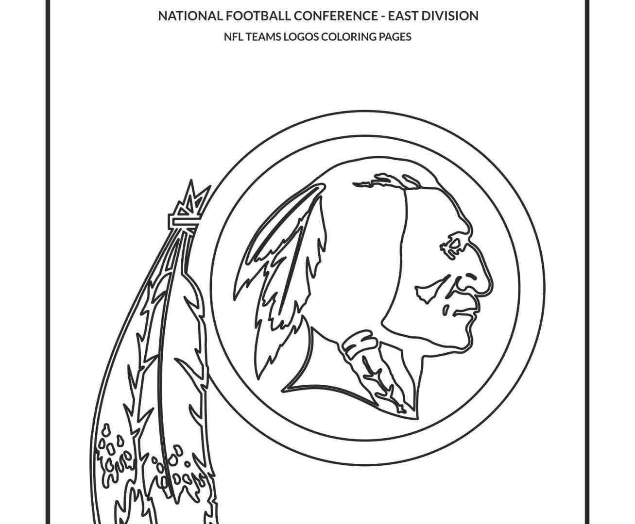 1307x1080 Nfl Team Logos Coloring Pages