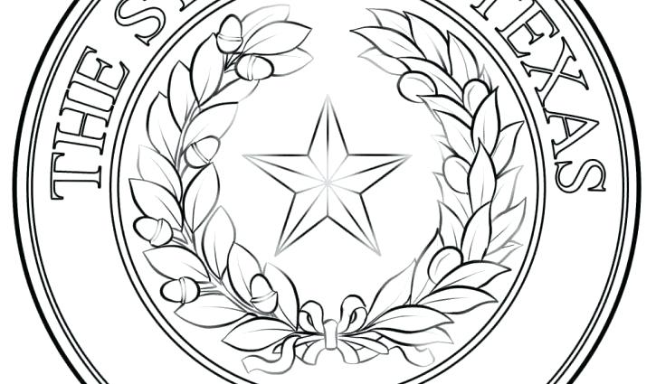725x425 Texas Symbols Coloring Pages X Texas Flag Coloring Page Pdf