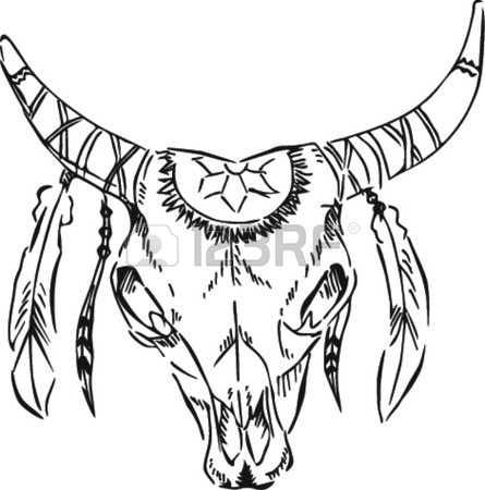 445x450 429 Texas Longhorn Stock Vector Illustration And Royalty Free