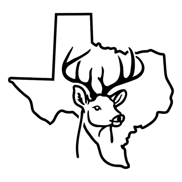 Texas Outline Drawing