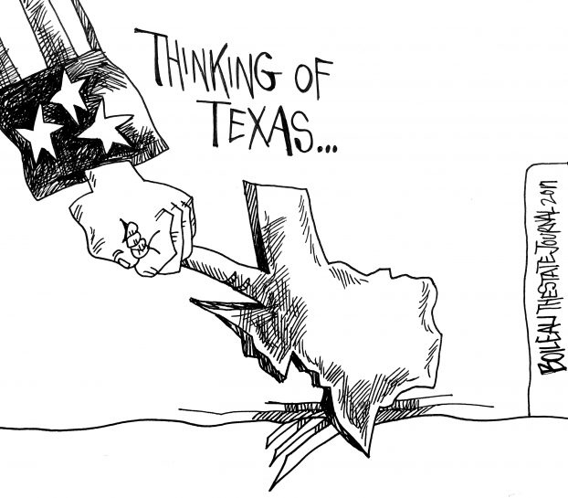 622x545 Cartoon Thinking Of Texas The State Journal