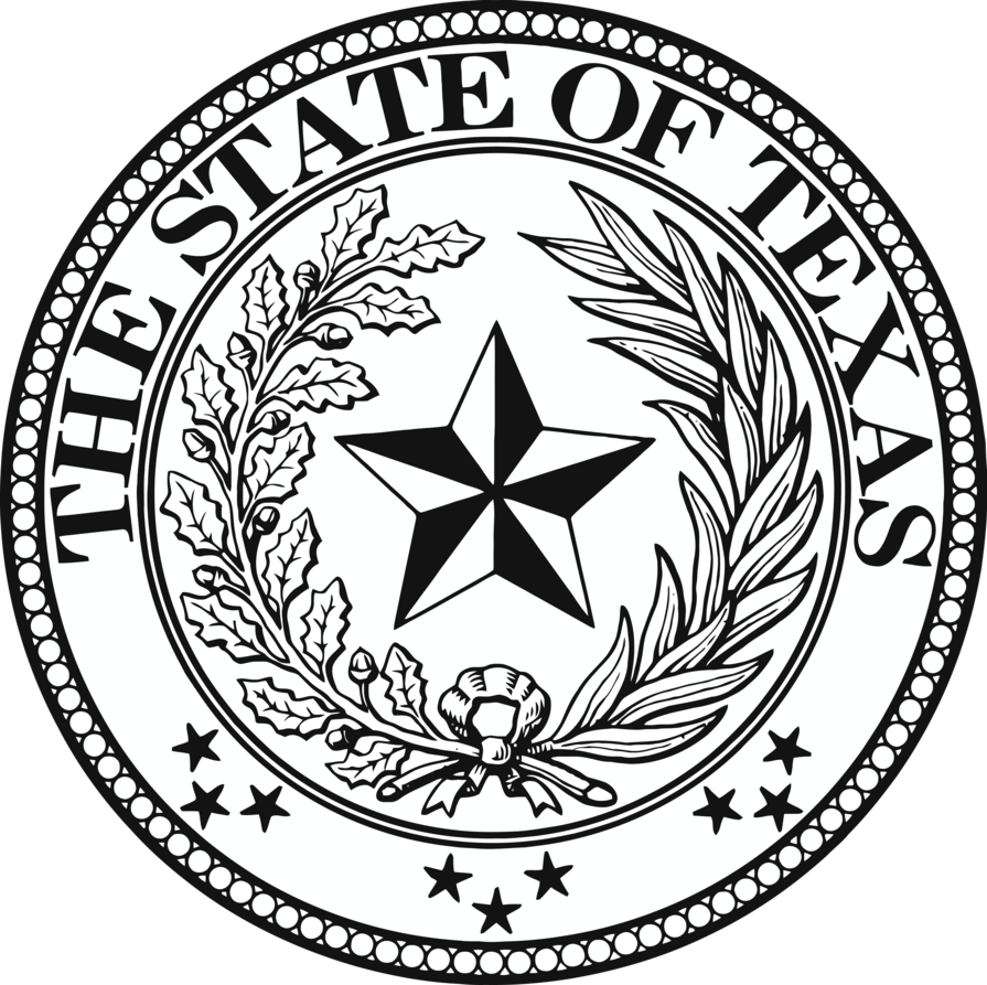 895x893 Texas State Seal By Soulcomplex