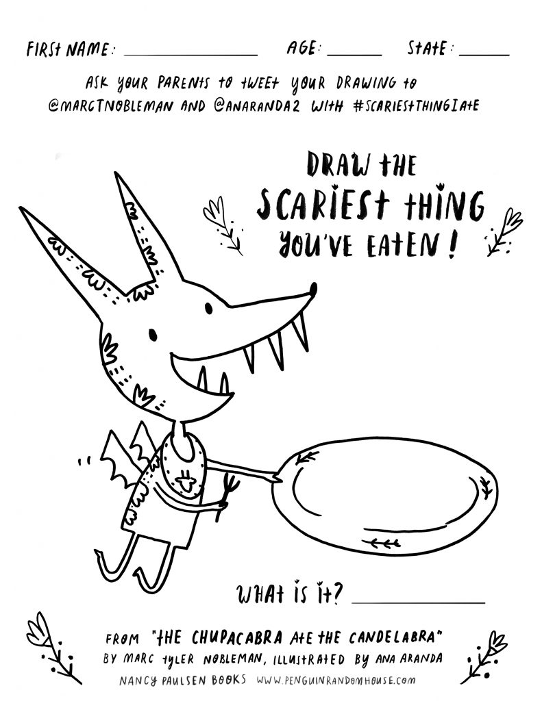 791x1024 Chupacabra Drawing Contest! Anaranda Illustration Blog