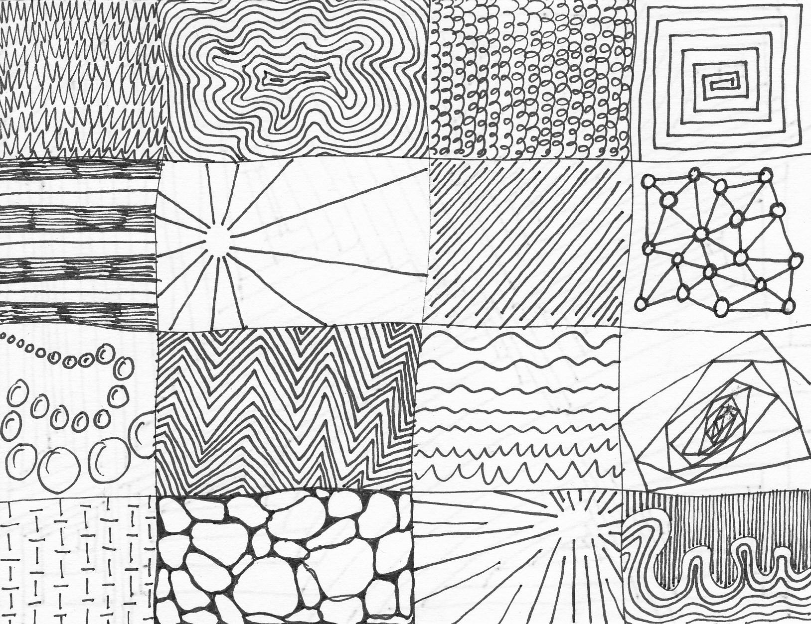 1627x1253 Thumbnails Exploring Line, Point, Shape, Form, Scale, Pattern