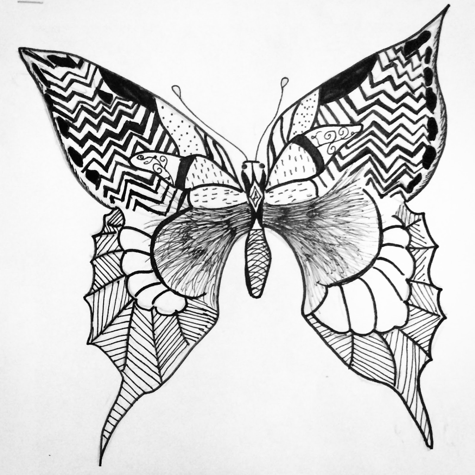 1600x1600 Art. Paper. Scissors. Glue! Line Design