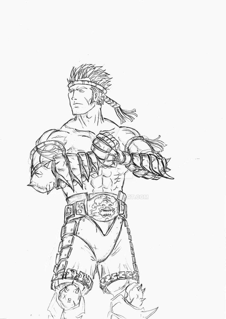 752x1063 Muay Thai Warrior By Rerk