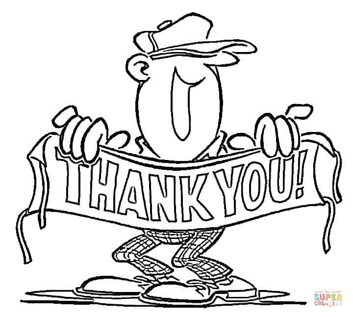720x646 Thank You! Coloring Page Free Printable Coloring Pages
