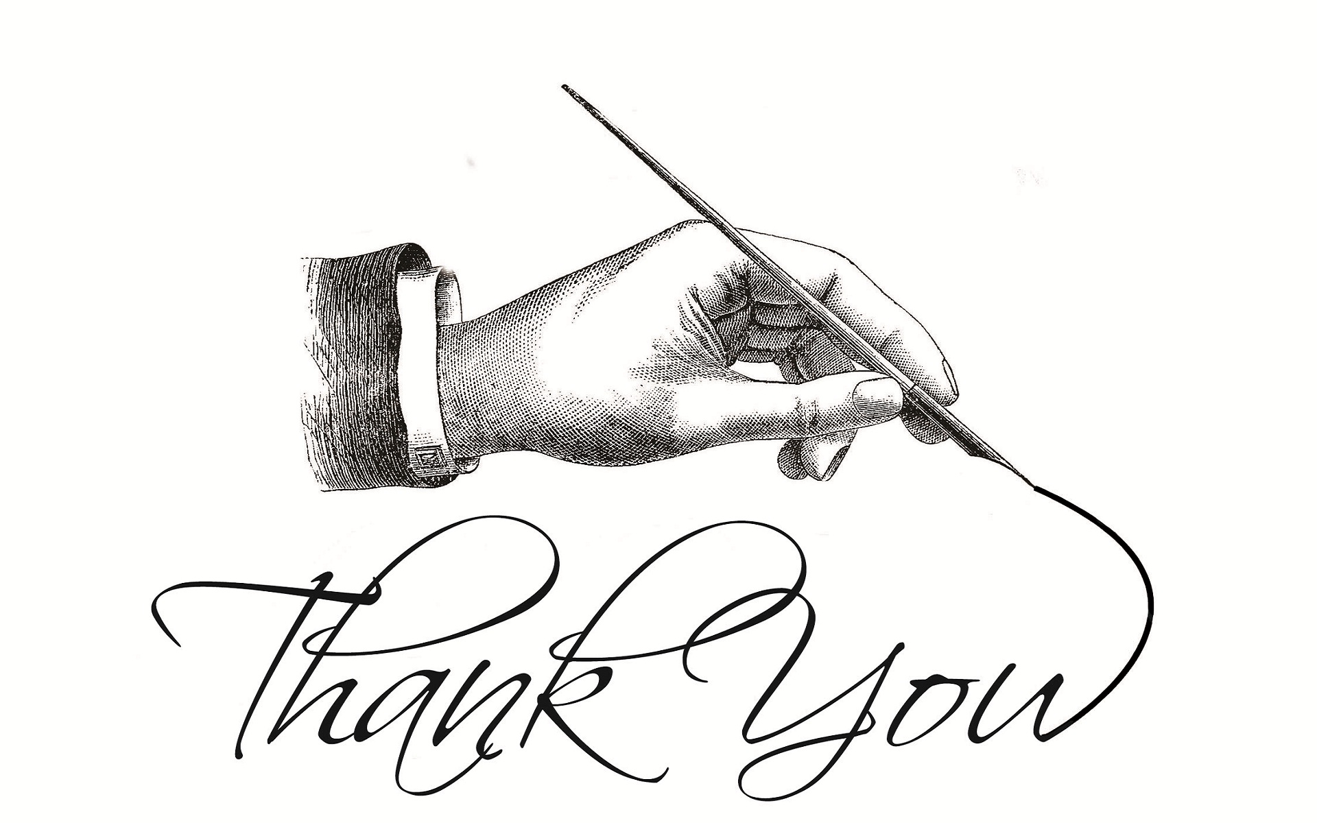 1920x1200 Thank You Pencil Art Work Hd Wallpapers Rocks