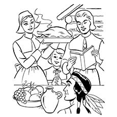 230x230 Top 25 Thanksgiving Coloring Pages For Your Toddlers
