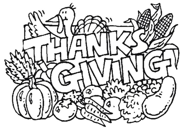 736x531 Thanksgiving Coloring Pages For Kids Printable Free In Sweet Page