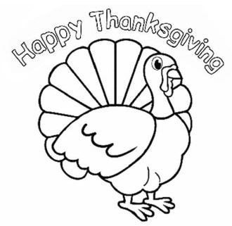 330x321 Coloring Pages Wonderful Thanks Giving Drawing Thanksgiving Day