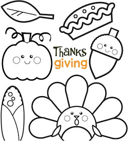 254x280 Pink Ink Doodle Thanksgiving Coloring Sheet Preschool Fall
