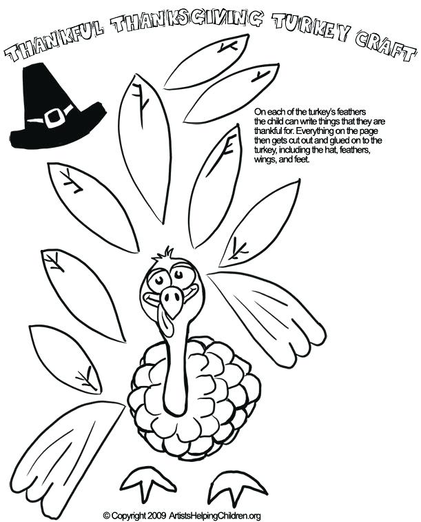 611x756 Thanksgiving Day Coloring Pages Free Thanksgiving Turkey Paper