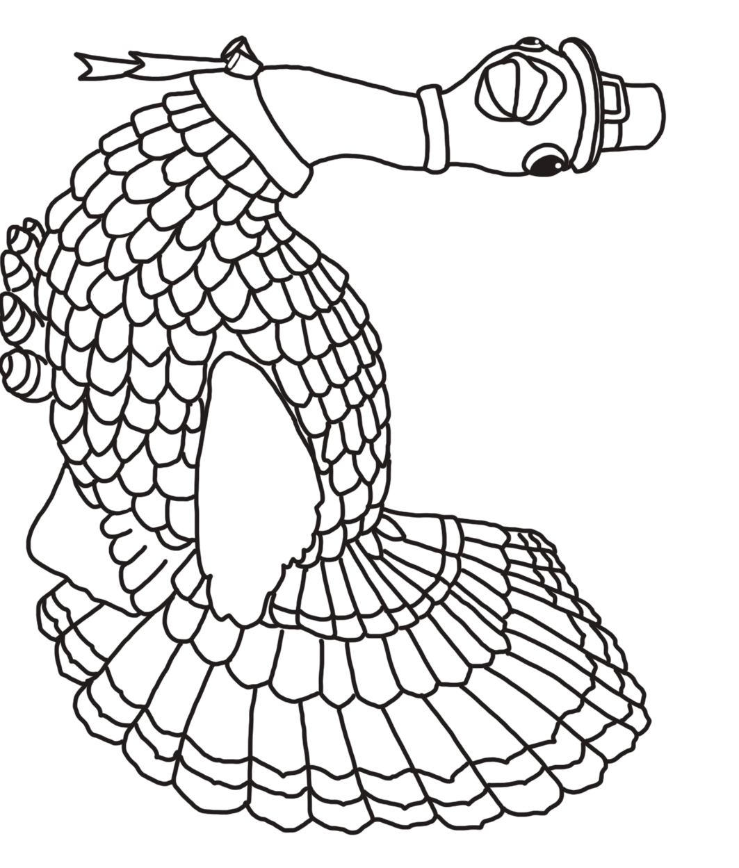1063x1249 Thanksgiving Coloring Pages