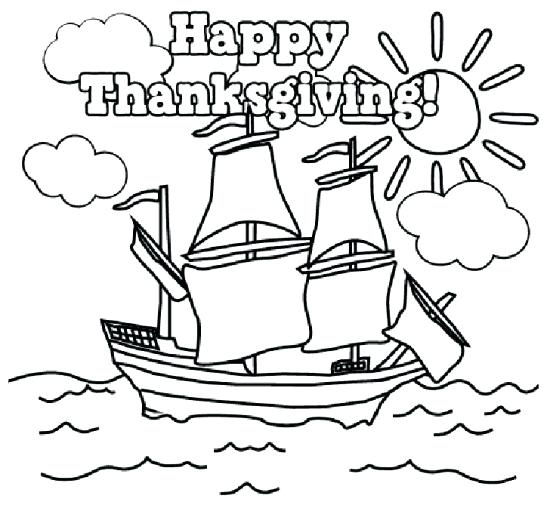 550x511 Thanksgiving Free Coloring Pages Oodles To Color While They Wait