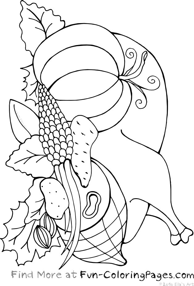 629x928 Roasted Turkey For Thanksgiving Dinner. Coloring Pages Of A Turkey