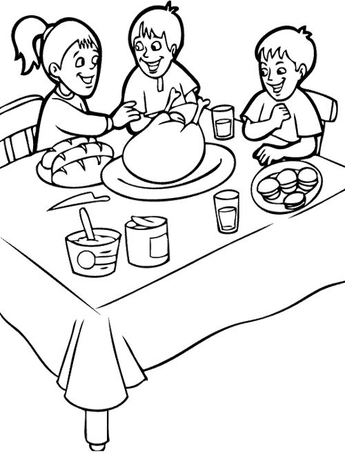 500x656 20 Best Thanksgiving Images On Coloring Books
