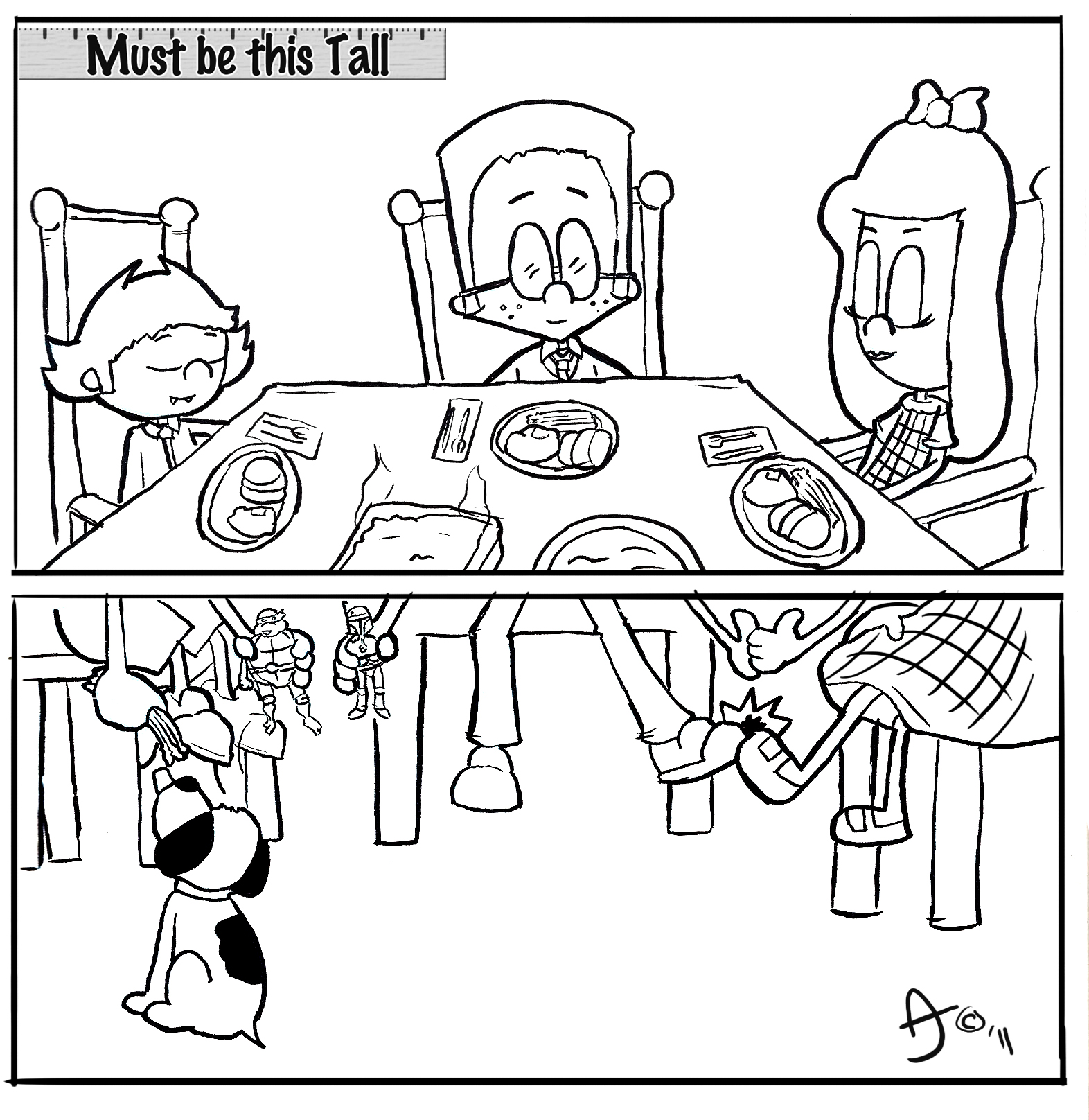 1572x1616 Well Behaved Kids Table Happy Thanksgiving Mustbethis