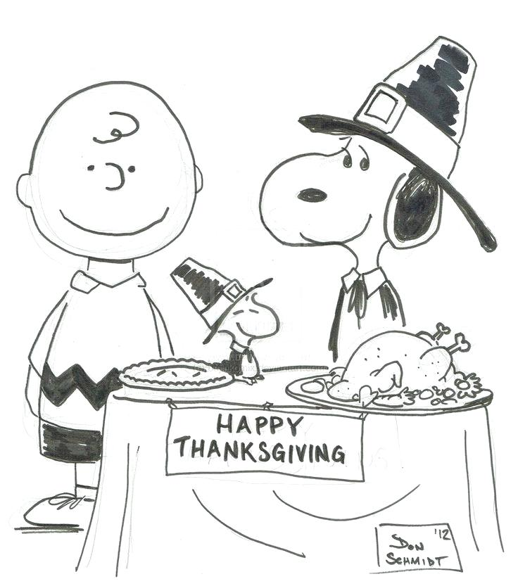 736x833 Charlie Brown Thanksgiving Coloring Pages
