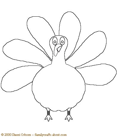 Thanksgiving Turkey Drawing At GetdrawingsCom  Free For Personal