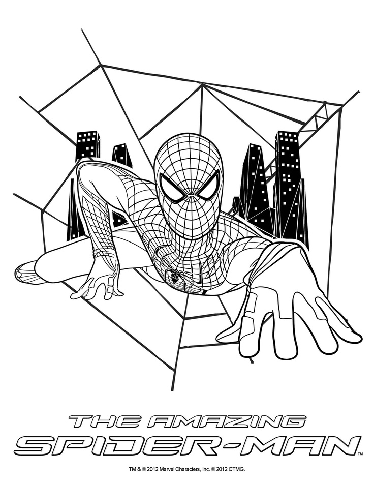 The Amazing Spider Man 2 Drawing at GetDrawings.com | Free ...