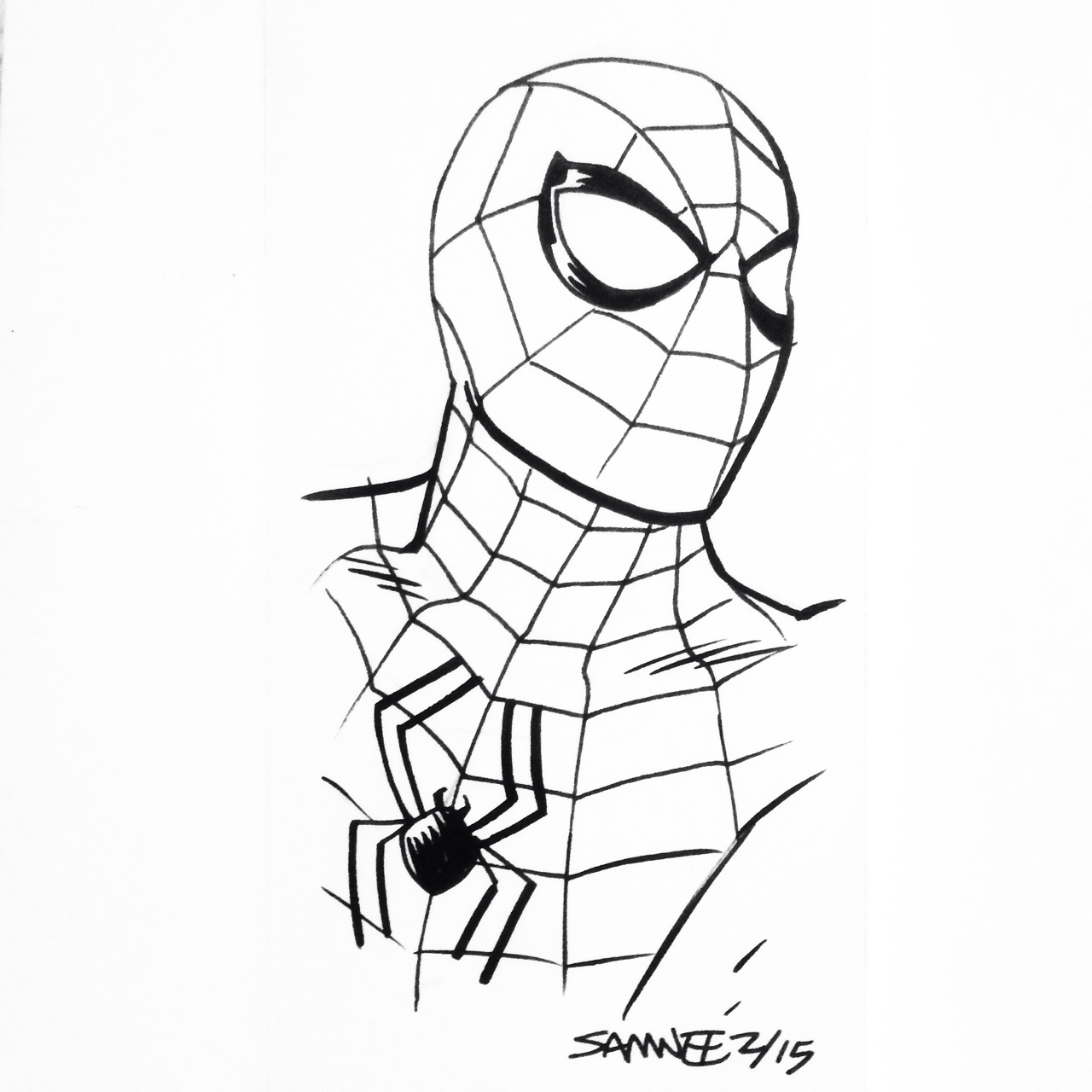 the amazing spider man drawing at getdrawings com free for