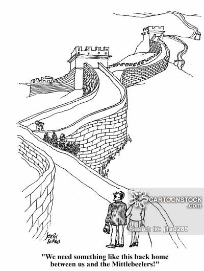 400x530 The Great Wall Of China Cartoons And Comics