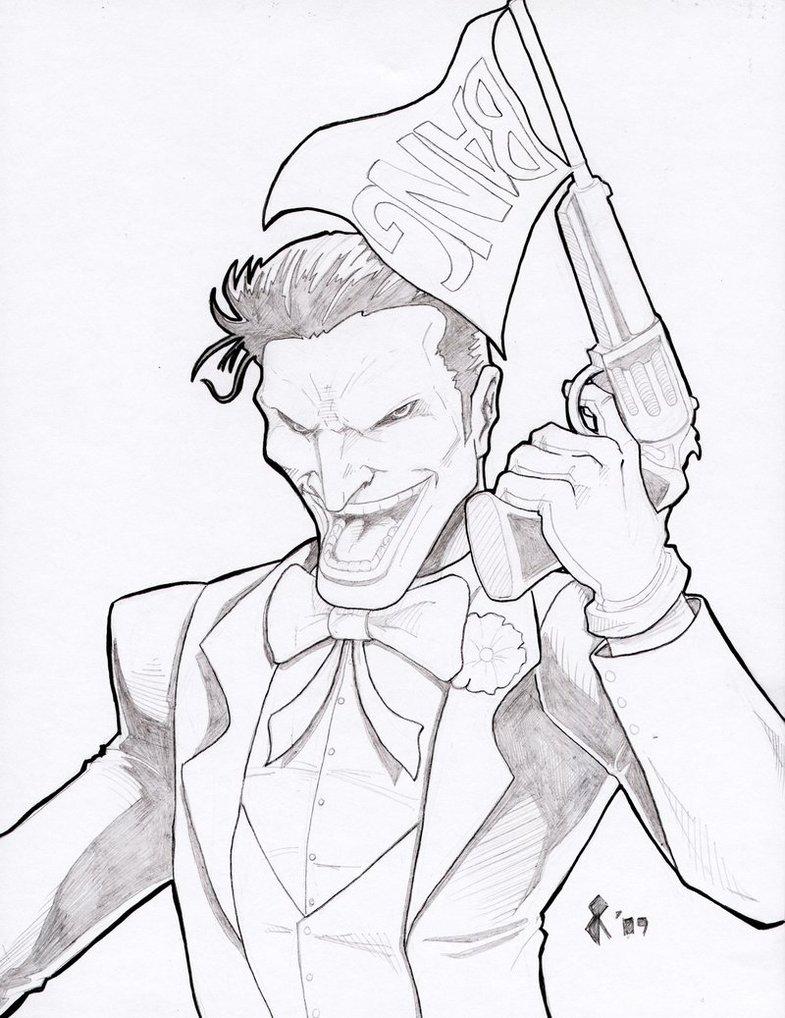 785x1018 Joker Pencils By Jrascoe
