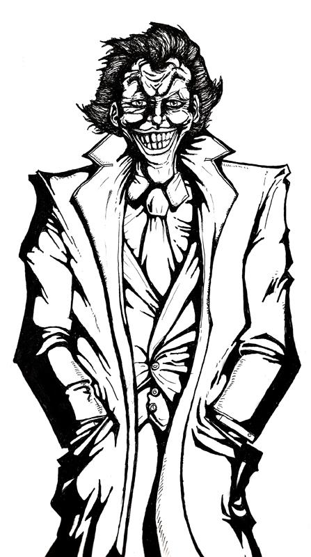 447x800 Quick Joker Drawing By Organicjerk