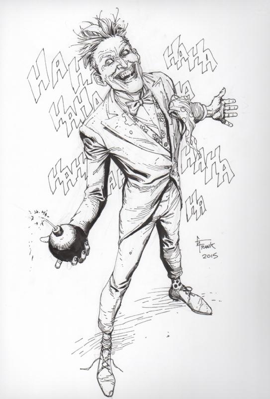 543x800 The Joker By Gary Frank Joker Joker, Comic And Batman
