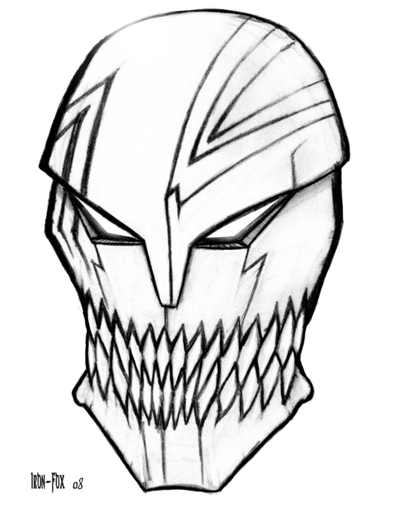789x1013 Hollow Mask By Iron Fox