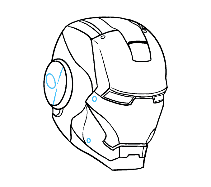 678x600 How To Draw Iron Man In A Few Easy Steps Easy Drawing Guides